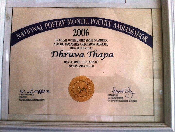 poetry ambassador