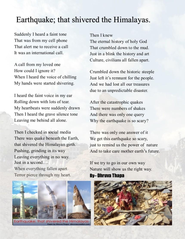 dhruva's poem